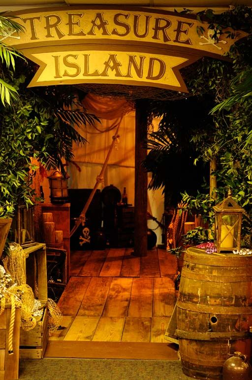 Pirate Themed Decorating Ideas Part - 37: Entrance More · Treasure IslandTropical FlowersShipwreckProm IdeasTheme  IdeasDécor PiratePirate ...