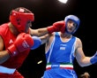Roberto Cammarelle of Italy (R) in action with Mohammed Arjaoui of Morocco during the Men's Super Heavy ( 91kg) Boxing on Day 10 of the London 2012 Olympic Games at ExCeL on August 6, 2012 in London, England. (Photo by Scott Heavey/Getty Images) - Crazy end to Team USA's soccer match - http://www.PaulFDavis.com/success-speaker (info@PaulFDavis.com) www.Facebook.com/speakers4inspiration www.Twitter.com/PaulFDavis