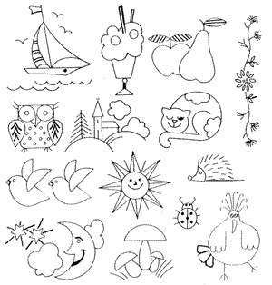 PATRONES PARA BORDADOS BORDAREmbroidery Patterns, Embroidery Tutorials, Embroidery Stitches Taste, Free Motion Embroidery, Free Express, Embroidery Pictures, Easy Pattern, Colors Pages Appliques, Free Motion Appliques