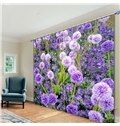 Romantic Purple Lavender 3D Printing Polyester Curtain on sale, Buy Retail Price 3D Floral Curtains at Beddinginn.com