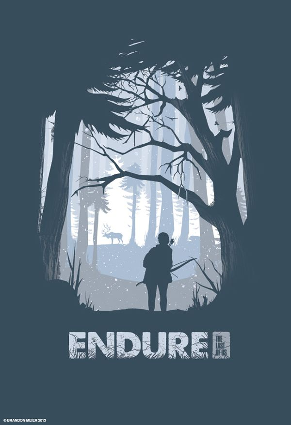 The Last of Us Poster Series on Behance
