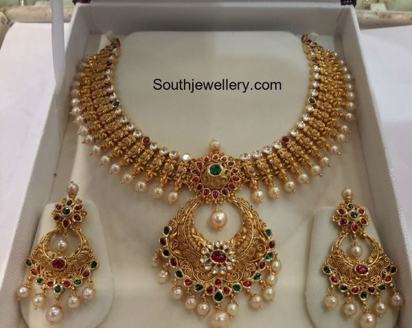 Kundan Necklace Latest Jewelry Designs