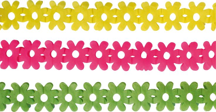Dekoracje papierowe Kwiatki.