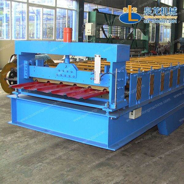 Color Steel Tile Forming Machine Quanlong Machinery Is A Manufacturer And Supplier In China Steel Tiles Roll Forming Steel