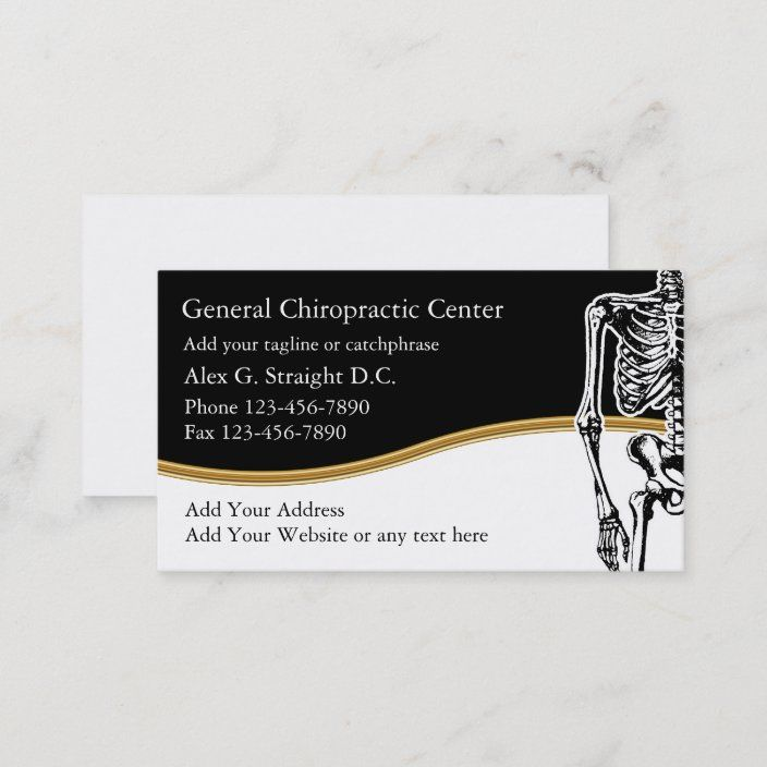Chiropractor Business Cards Zazzle Com Physical Therapy Business Business Cards Customizable Business Cards
