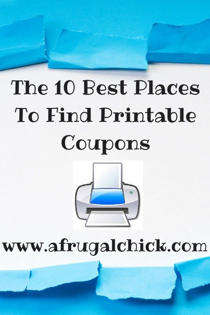 The 10 Best Printable Coupon Websites