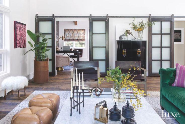 114 best barn doors images on pinterest doors interior for Barn doors to separate rooms