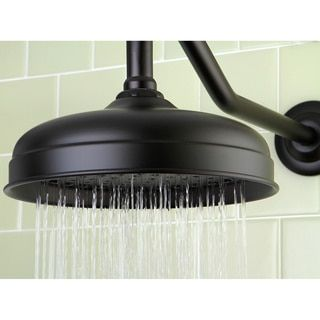 Victorian Oil Rubbed Bronze 10-inch Raindrop Showerhead | Overstock.com Shopping - The Best Deals on Showerheads