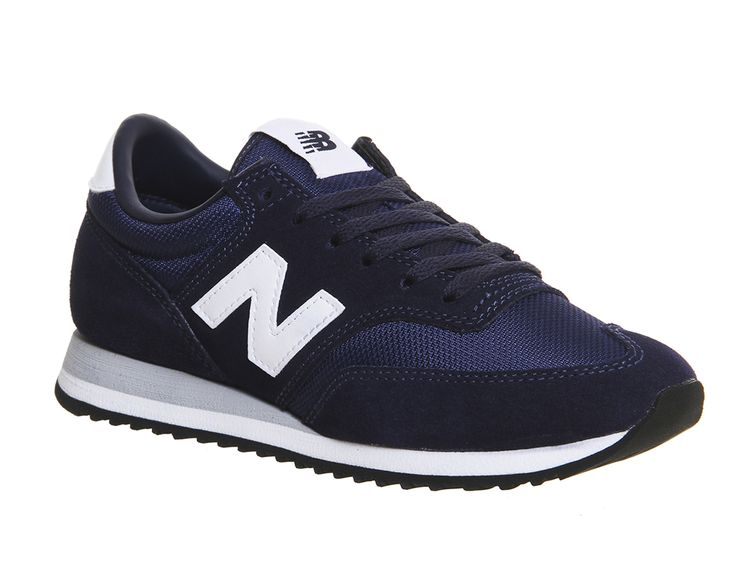 Buy Cw Navy White Grey New Balance 620 Trainers from OFFICE.co.uk.