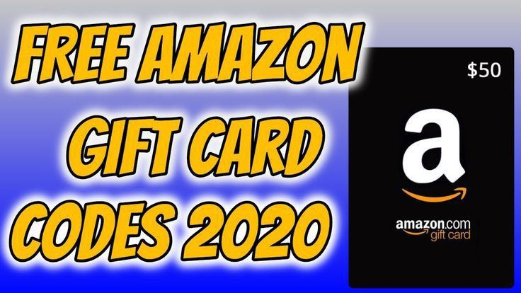 Free Gift Card Codes 2020 Free Amazon Products Amazon Gift Card Free Amazon Gift Cards