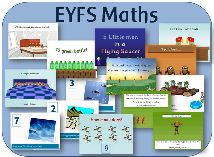 Early Years Maths PowerPoints - Number, counting, shapes and colour