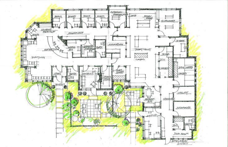 LShaped Floor Plan.jpg (5100×3300) Hospital floor plan