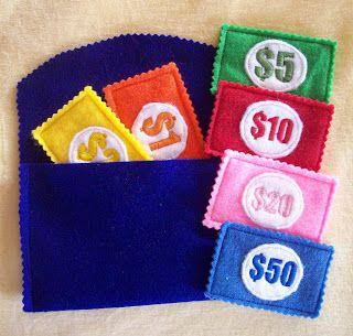 cute idea for play money
