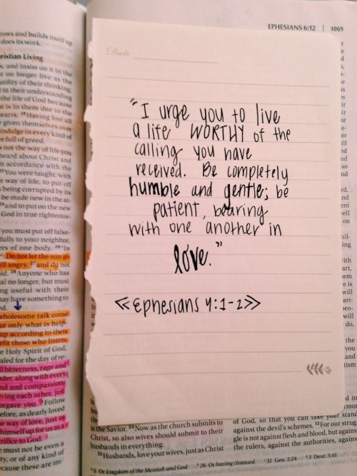 Love this verse! <3 I read it not long ago & the Lord began something new in me. Such a great verse. Walk worthy my friends.
