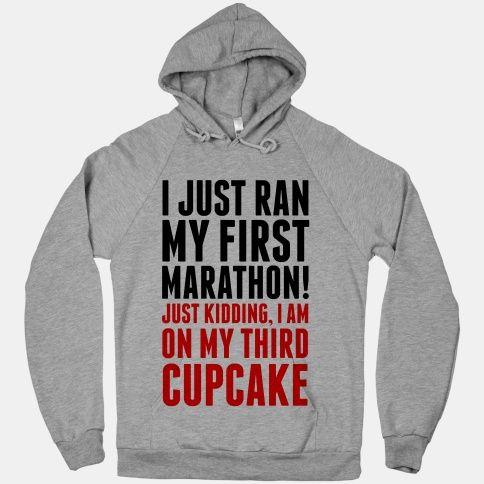 I Just Ran my First Marathon.... (change to donut)