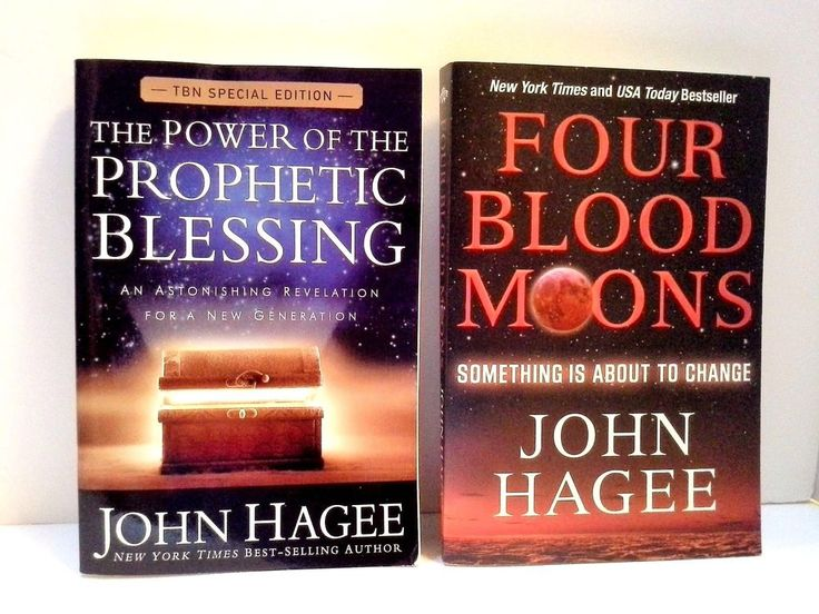 John Hagee Collection: Power of the Prophetic Blessing & Four Blood Moons Set #PaperbackNonfiction