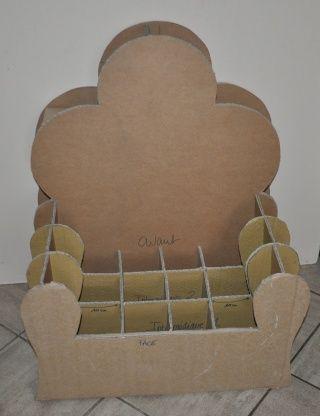 Tuto : Un fauteuil d'enfant en carton