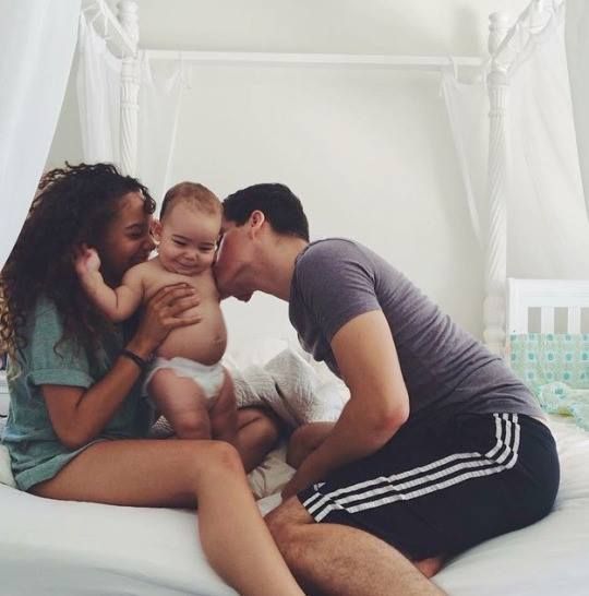 Beautiful interracial family. If you are looking for serious interracial relationship join www.mixedfishes.com. Meet your soulmate
