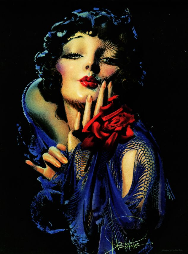 """Rose Marie"" by Rolf Armstrong c. 1928-1930"