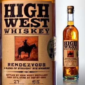 High West Whiskey--Home town whiskey. Best there is.