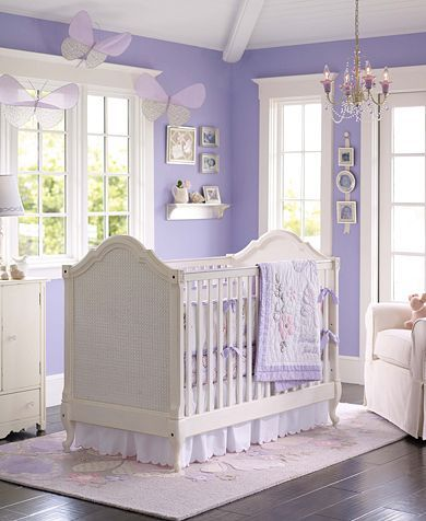 A Cute Nursery For A Girl I Would Also Add Sage Green To Make It A Little Le