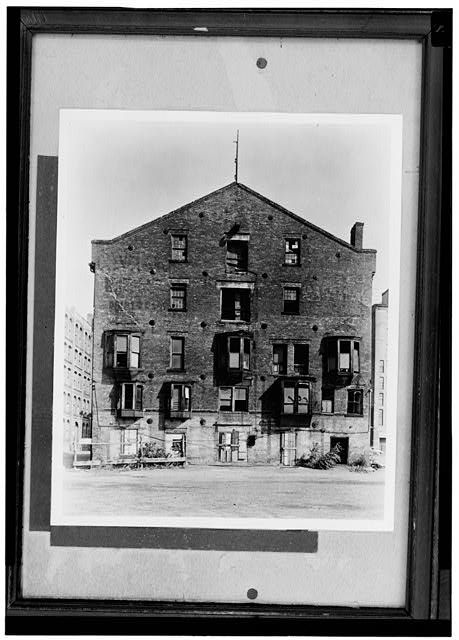 13.  Historic American Buildings Survey. Detroit Edison Company, Photographer. Gift of Emil Lorch, AIA (1951) SOUTH OR RIVER FRONT - Detroit & Cleveland Navigation Company Warehouse, Wayne Street, Detroit, Wayne County, MI