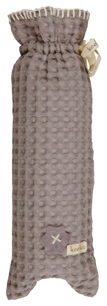 Koeka Hot water bottle cover Antwerp - Taupe