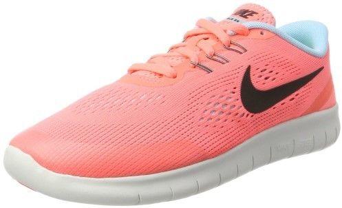 Nike 833993-601 : Free RN Lava Glow Kids' Running Shoe (5.5 M Big Kids)