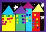 huisjes van vormen