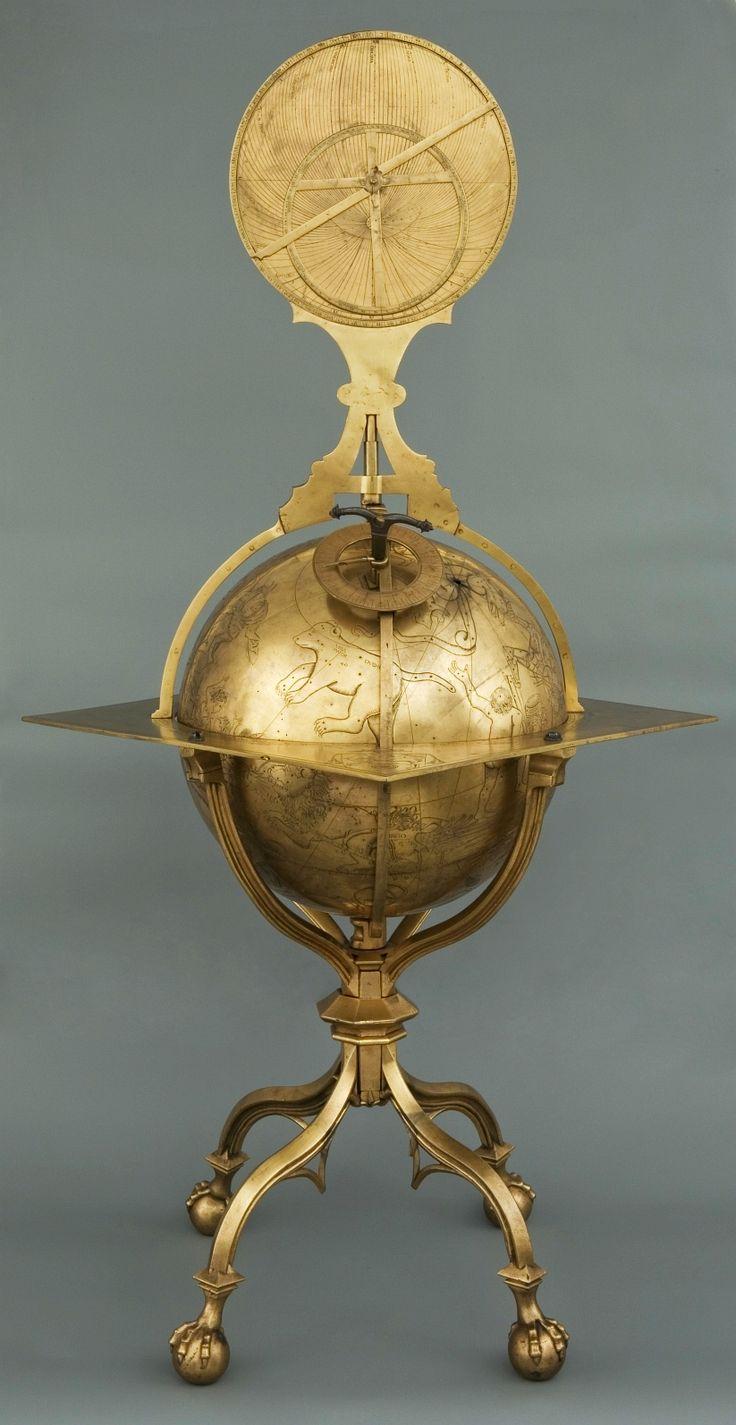 Globe of sky of Marcin Bylica by Hans Dorn in Buda, 1480, Muzeum Uniwersytetu Jagiellońskiego (MUJ)