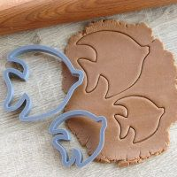 "Cookie cutter ""Fishes"" Set 2 pc"