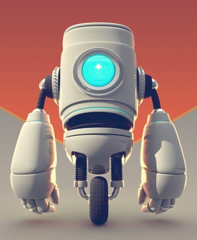 Robot 03 by Flavio Montiel