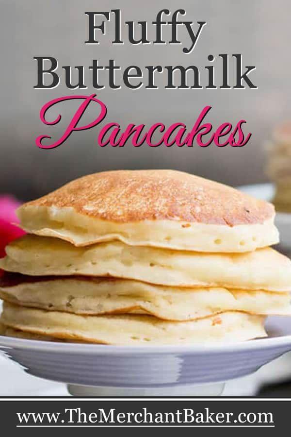 Fluffy Buttermilk Pancakes Recipe Buttermilk Pancakes Fluffy Buttermilk Pancakes Pancake Recipe Buttermilk