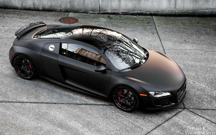 A New Matte Black R-8, size [1920x1200]