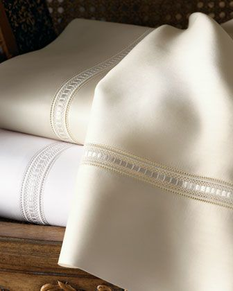 King 590TC Fitted Sheet by SFERRA at Neiman Marcus.