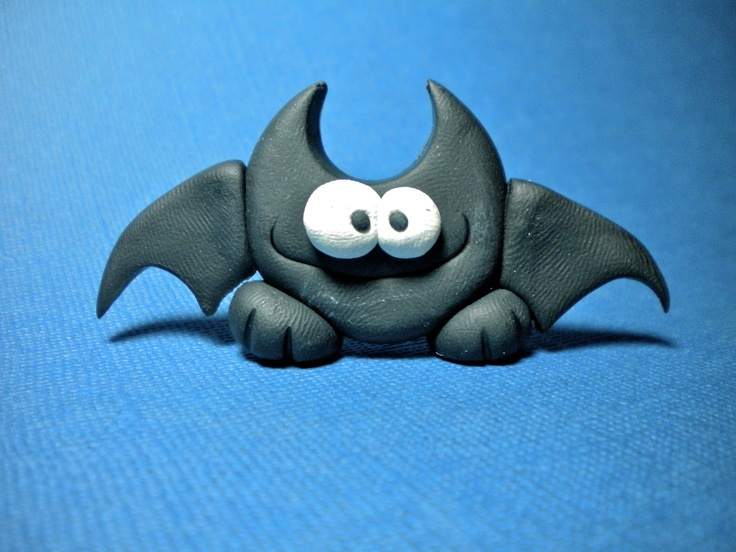 Polymer clay bat