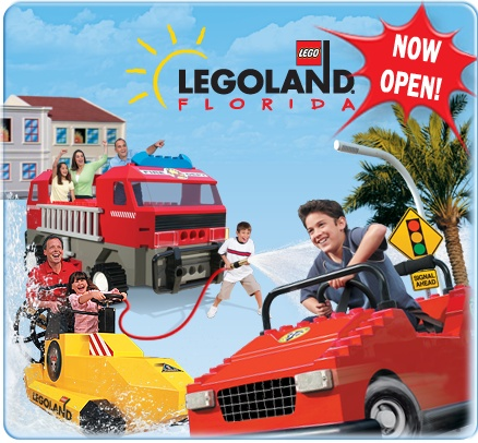 What kid wouldn't love Legoland? even a big kid!