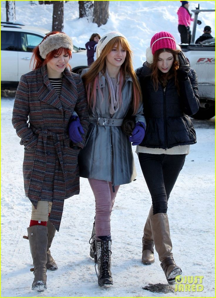 Kaili Thorne, @Erin Duncan Thorne and @bellapendergast ⛄