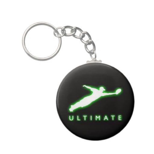Ultimate Frisbee Keychain by #Kilbokam on #Zazzle #sports