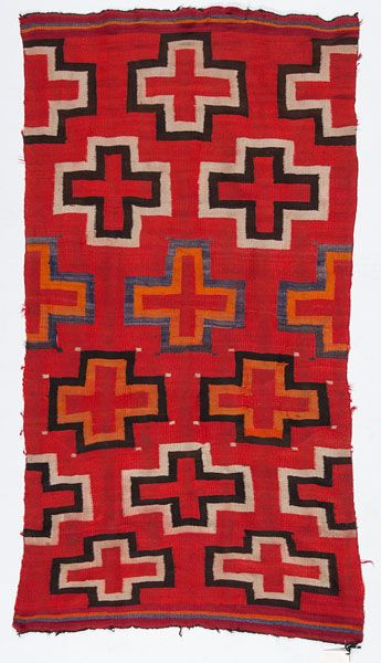 Navajo Transitional Weaving / Rug (4/6/2015 - American Indian: Timed Auction - ends 4/6/2015)