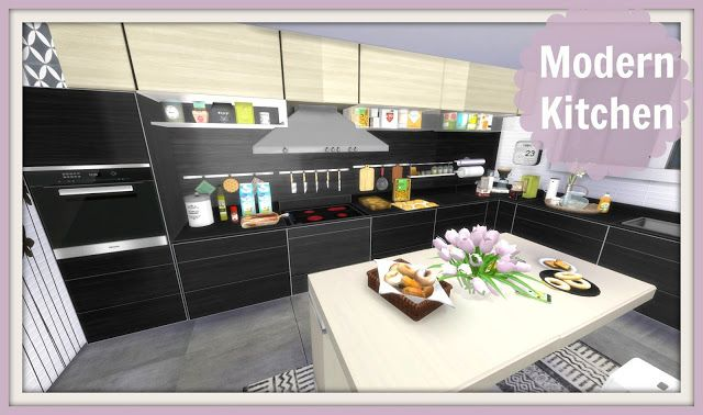 Sims 4 - Modern Kitchen