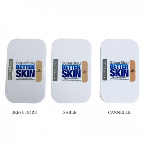 GEMEY MAYBELLINE SUPERSTAY BETTER SKIN FOND DE TEINT SOIN COMPACT - Easyparapharmacie