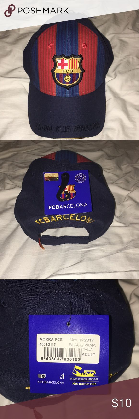 FC Barcelona Hat New with tags FC Barcelona Hat from Spain Accessories Hats