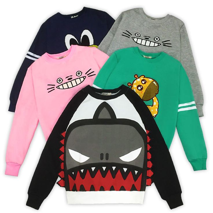 2017 New Fashion Harajuku 3D Thick Women Cartoon Sweatshirt //Price: $26.75 & FREE Shipping //     #hashtag3