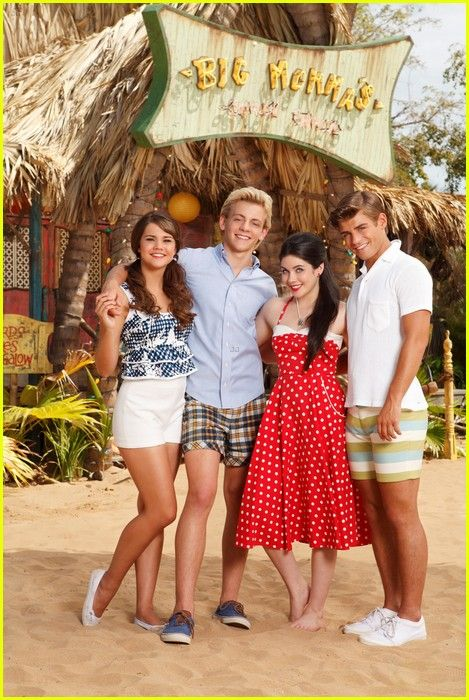 "Mia is so tall! I compared her to Lela when I was watching Teen Beach Movie and I was like ""That's a really big difference!"""