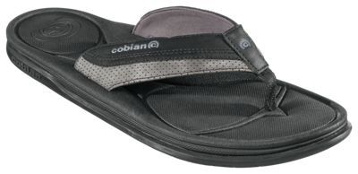 Cobian Bolster Archy Thong Sandals for Men - Black - 11M
