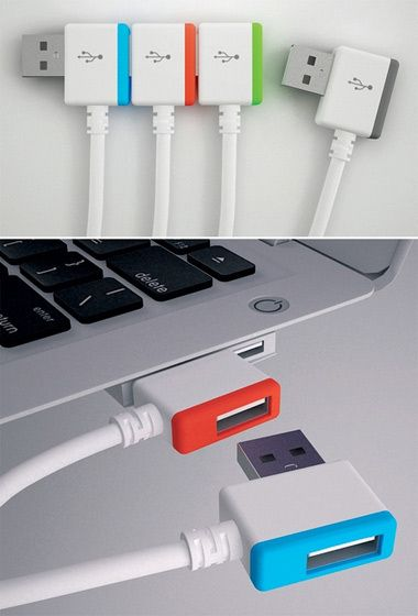 Electronics: The infinite USB Style: Contemporary Comment: Cool. It falls under that