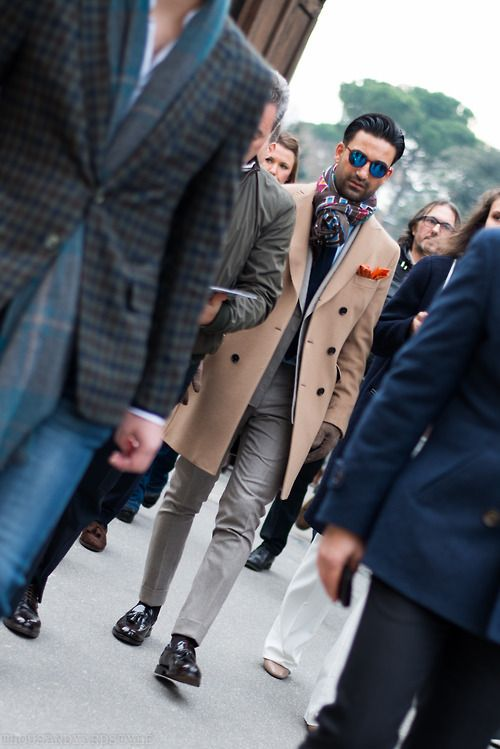 thousandyardstyle:  Pitti Uomo street style, A wolf in wool