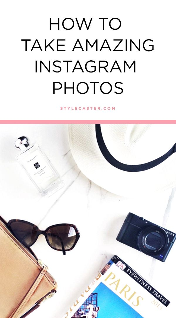 How to take really good Instagram photos | Pro tips and tricks on artfully arranging the perfect flat lay. Instagram stars have perfected their photo skills—read on for all their iPhone photography secrets! @stylecaster
