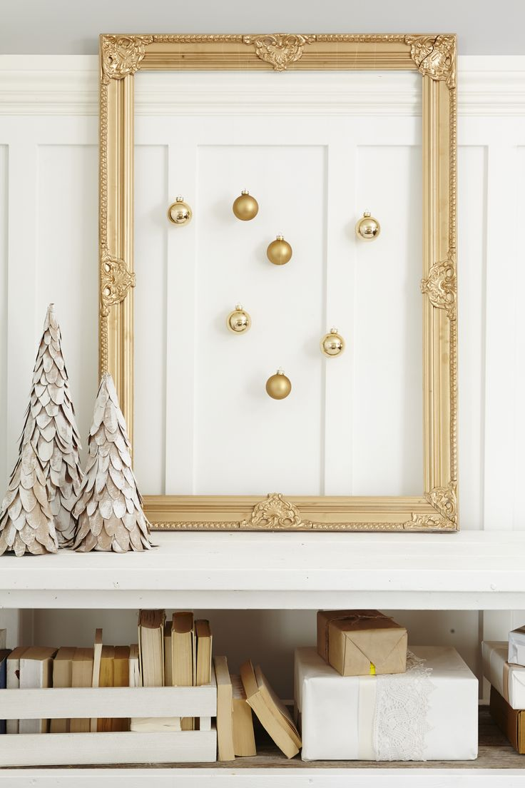 A unique way to display christmas tree ornaments #LeonsHelloHoliday